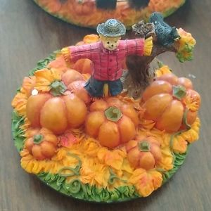 Gold Canyon Accents - Pumpkin patch candle holder